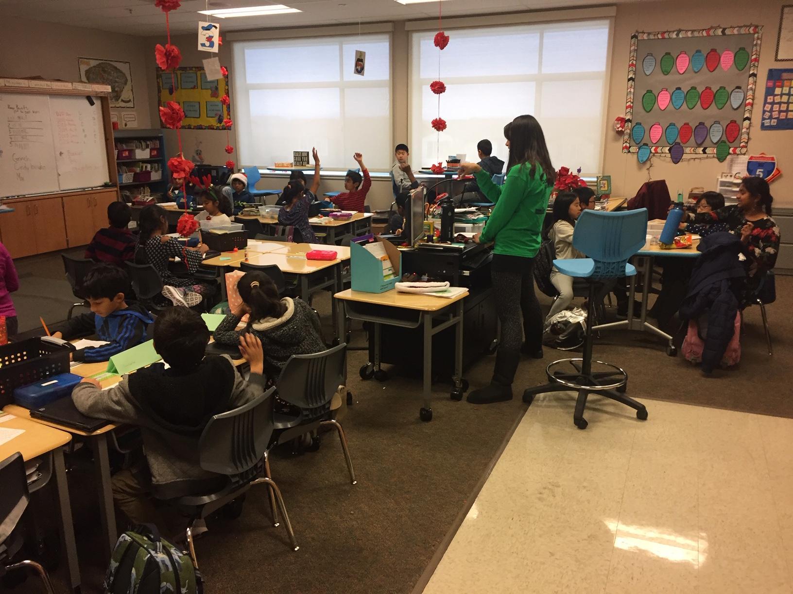 DPIE Students in Classroom