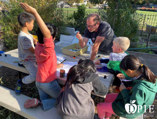 Life Science in the Garden at Dougherty Elementary