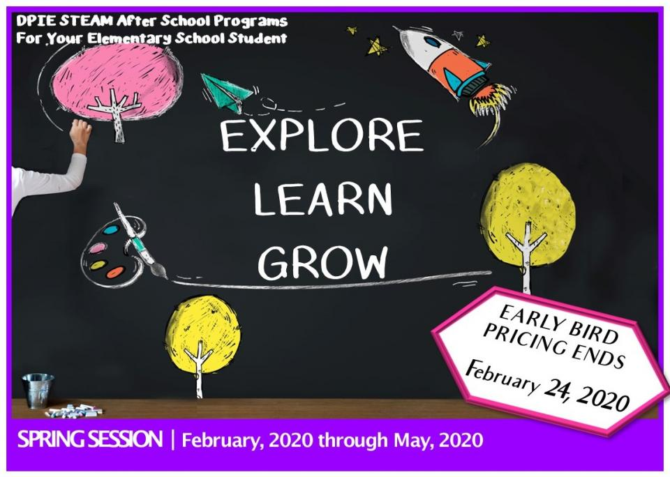 Spring After School Enrollment Open!