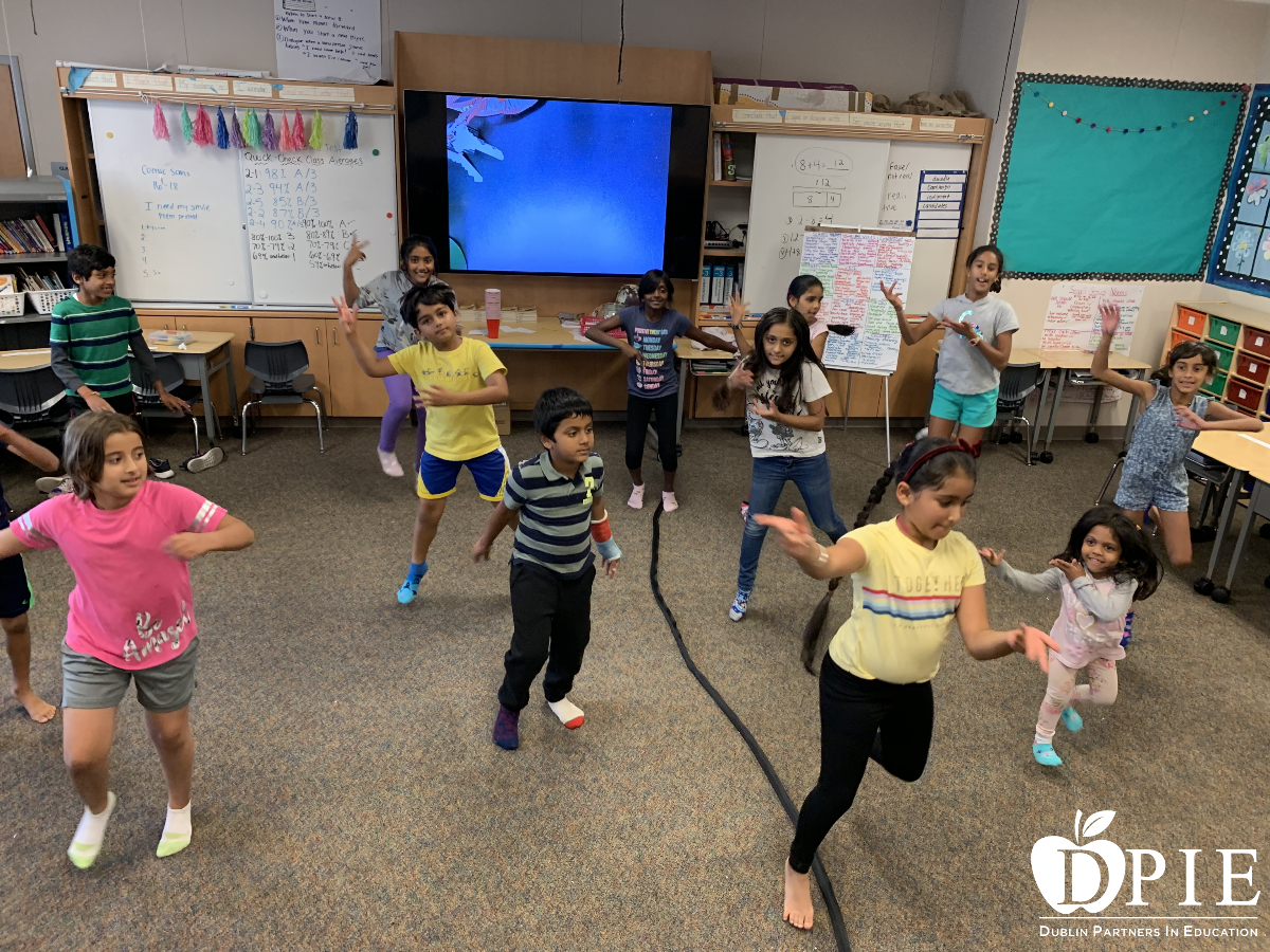 Bolly Fusion Dance Class at Amador Elementary